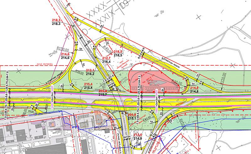 Проект планировки транспортной